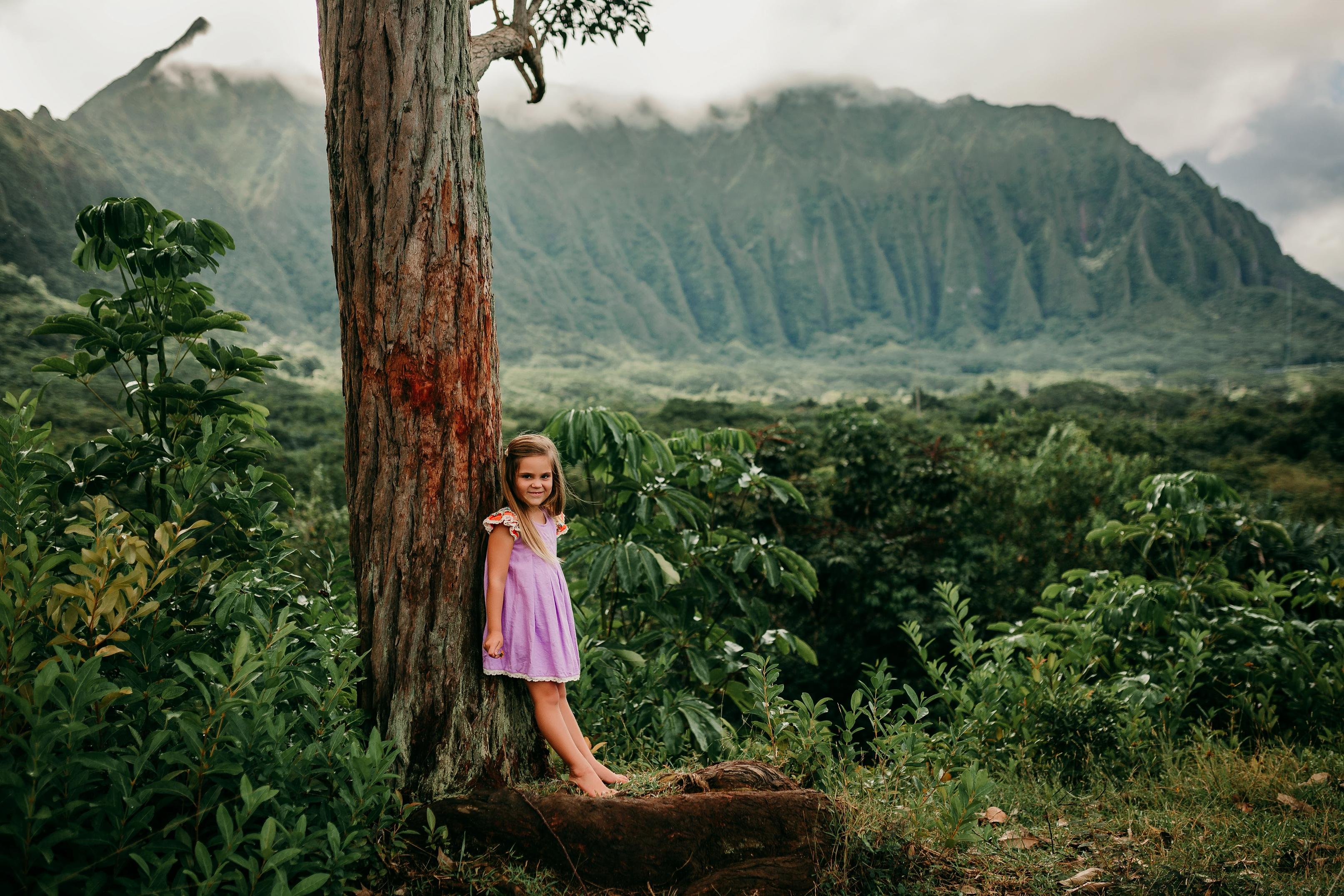 C Portrait Session At Kaneohe Botanical Gardens | Honolulu Portrait  Photographer | Oahu Photographer   Fernanda Kenfield Photography